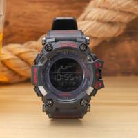 büyük dijital saatler toptan satış-Erkekler PRW Spor Elektronik kronograf kol G 100 110 Erkek Büyük Arama Dijital su geçirmez LED erkek darbeye dayanıklı Bilek Saatler