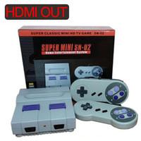 vente de jeux vidéo achat en gros de-La console de jeux HDMI Out peut stocker 821 jeux vidéo de poche pour consoles de jeux SNES VENTE CHAUDE