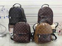 fivelas de primavera venda por atacado-Palm Springs das mulheres de alta qualidade mochila marca crianças mochilas 41560 bolsa de ombro de couro genuíno mini mochila