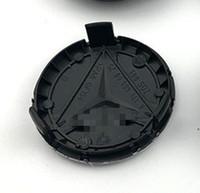4pcs ForBen-z Car Wheel Hub Caps 75mm Styles Center Covers silver black blue Logo Cover