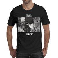 ingrosso candeggina personalizzata-Nirvana Bleach 2019 Maglietta estiva personalizzata da uomo per uomo in cotone