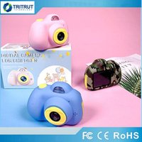 Wholesale Children Mini Camera Toy Digital Photo Camera Kids Toys Educational photography gifts toddler toy MP hd Toy KID Cameras SD Card MQ05