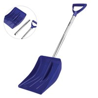 Wholesale multifunction folding shovel for sale - Group buy Snow Shovel Plastic Snow Remove Tool With Aluminum Alloy Handle Multifunction Folding Garden Planting Shovel For Camping Outdoor T200306