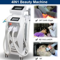 Wholesale tattoo removal rf resale online - ND YAG LASER Tattoo skin spot removal OPT SHR hair removal EKIGHT veins removal RF Ipl equipment