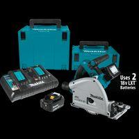 комплекты 36v оптовых-Makita XPS01PTJ 18 В X2 (36 В) Бесщеточный Аккумуляторный Набор 6 1/2 Врезной Дисковая Пила