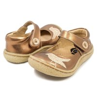 botas de cuero para niñas gratis al por mayor-Tipsietoes Top Brand Quality Genuine Leather Children Baby Toddler Girl Kids Shoes For Fashion Winter Snow Boots envío gratis Y19061906