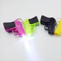 mini linternas led llaveros al por mayor-Llavero de moda Accesorios Linterna LED Llavero Aleación de aluminio con luz blanca led mini linterna llaveros anillos para bolsa Accesorios