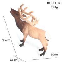 Wholesale wild decor resale online - Simulation Lifelike Wild Animal Toy Deer Model Figurine Action Figures Home Decor Educational Toys for Children Home Ornament