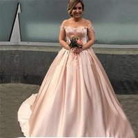 Wholesale lavender lilac pageant gowns for sale - Group buy Off the Shoulder Lace Satin Ball Gown Prom Dress Robe De Soiree Vestido De Festa Evening Dress Pageant Formal Party Dress