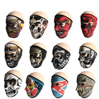 Wholesale black mask face for sale resale online - Outdoor Mask Windproof Dust Proof Facepiece Bicycle Motorcycle Headgear Anti UV Decoration Suplies Adult Hot Sales Fashion Shell Fab lnC1