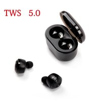 Wholesale A6 TWS bluetooth headphones BT5 mini Wireless Earbuds headphones I9S in ear earphones charging box for iphone samsung goophone X18