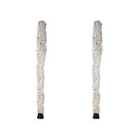 saxofon blanco al por mayor-NAOMI 2 UNIDS Alto Cotton Brush White Cleaner Para Saxofón Alto Instrumento de Viento de Madera Accesorios para Instrumentos Musicales
