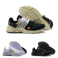 marka kadınlar yüksek ayakkabılar toptan satış-Yüksek Kalite 2019 Yeni Presto V2 Ultra BR TP QS Siyah Beyaz X Spor Ayakkabı Ucuz Hava Yastığı Prestos Kadın Erkek Marka Eğitmen Sneakers