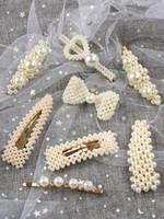 ingrosso gli accessori dei capelli barrette di ornamento dei capelli-2019 coreano perla per capelli fermaglio per capelli temperamento moda ragazza elegante forcine per capelli accessori per capelli stile trendy ornamento donne nuovo