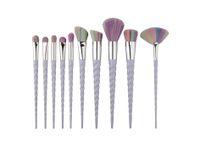 Wholesale squirrel makeup brushes resale online - Hot Makeup Brushes The fan brush Makeup Tools B14