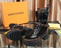 câmera de telefone celular preto vermelho venda por atacado-qualidade LuxuryLouisVuittongucciHigh novas senhoras da moda sapatos de salto alto botas longas botas de luxo das mulheres clássicas com boxA originais