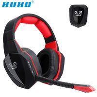 eine optische großhandel-HUHD 7.1 Surround Sound Stereo-Headset 2,4 GHz optisches Wireless Gaming Headset Kopfhörer für PS4 3 XBox 360 one S PC TV-Kopfhörer