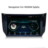 android nissan gps großhandel-10,1 Zoll Android 8.1 Auto GPS Navigation Multimedia Radio Stereo für Nissan Sylphy 2016 2017 2018