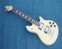 e-gitarre schüttelt sich großhandel-Freies Verschiffen 22 Doppelerschütterungs-E-Gitarre, Aufnahme des weißen Körpers