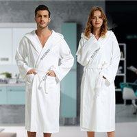 satılık bornozlar toptan satış-Sıcak Satış Bornoz Kadınlar Yaz% 100 Pamuk Kimono Bornoz Kadınlar Gelin Gelinlik Robe Elbise Seksi Uzun pijamalar