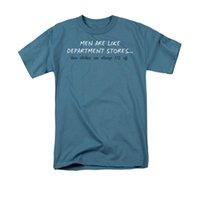 ingrosso grandi magazzini-2019 New Summer Cotton Funny T Shirt Maniche corte Uomo Like Department Stores Maglietta Regular Fit per adulti