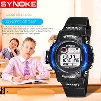 ingrosso i ragazzi guidano l'orologio-Hot Kids Watch Boys Life Impermeabile Digital LED Sports Watch Bambini Alarm Date Regalo reloj digital hombre Reloj Deport XC