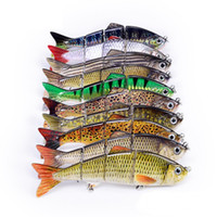 Wholesale multi jointed fishing lures resale online - Manufacturer Supply ABS Saltwater Jig Fishing Tackle Lure In Stock Multi Jointed Swim Bait with cm cm cm