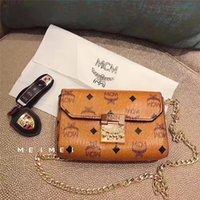 haberci çanta çantaları toptan satış-Yüksek Kalite Marka Lady Bayan Mini Zincir Çanta Yeni Moda Kadınlar Crossbody Messenger Çanta Çanta Omuz Çantaları Tote Deri Debriyaj hediyeler