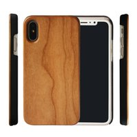 Wholesale iphone solid wood case for sale – best High Quality Solid Wood Bamboo Case For iphone S Plus X XS max XR Mobile Phone Cover Customized Design Hard Back Cases S10 S10plus