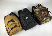 Wholesale trendy backpacks resale online - New men and women Sports leisure nylon wear Resistant student bag shopping outdoor hiking trendy backpack