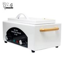 nägel sterilisator großhandel-Professionelle Hochtemperatur-Sterilisator Box Nagel-Kunst-Salon Tragbare Sterilisieren Werkzeug-Maniküre-Nagel-Werkzeug heissluftsterilisierbar