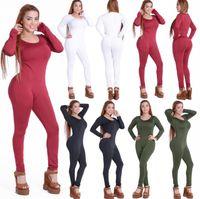 Wholesale tennis clothing for women resale online - Fashion Women Causal Jumpsuits Sport Yoga Pants Leggings Set Gym Running Sport Suit Set Workout Clothes for Female clothing sweatshit