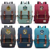 rucksäcke für schuljugendliche mädchen großhandel-Für Vip Link Magie Hogwarts Ravenclaw Slytherin Gryffindor Junge Studentin Schultasche Jugendliche Schultaschen Frauen Männer Rucksack