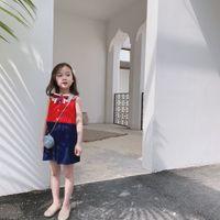 ingrosso abito di marca per bambino-Vestiti caldi dell'abito del partito di stile di marca dei vestiti di compleanno del nuovo bambino caldo di estate 2019 dei capretti delle neonate dei capretti