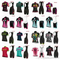 jersey ciclismo saxo banco tinkoff al por mayor-2019 NUEVO jersey de ciclismo ALE establece almohadilla de gel 3D Equipo profesional de mujer ropa de verano ciclismo bicicleta de montaña ropa de ciclismo racing bike wear A3024