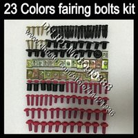 Wholesale fairing bolts zx resale online - OEM Body full bolts kit For KAWASAKI NINJA ZX2R ZXR250 ZX R ZXR ZX R GP3 Fairing Nuts screw bolt screws Nut kit