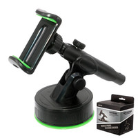 Wholesale console for cars for sale - Group buy 360 degree cell phone holder Center Console Car Navigation Phone Bracket Car Suction Cup Telescopic Rod Holder Stand for iPhone Samsung GPS