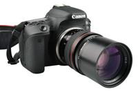câmeras eos câmeras lentes venda por atacado-135mm lente prime telefoto f2.8 para canon eos 1300d 6d 77d 760d 800d 60d 70d 80d nikon d810 d850 dslr lente da câmera