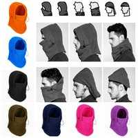 Wholesale tactical beanies for sale - Group buy 9styles Winter masks Barakra Hat Warm Thicker Cycling Caps motorcycle windproof Skiing dust Tactical mask Xmas Hats Gifts FFA1326