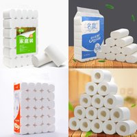 Wholesale roll cleaner for sale - Group buy Full Layers Roll Toilet Papers Kitchen Dining Tissue Rolling Napkins Household Cleaning Table Decoration Accessories In Stock Fast Shipping
