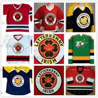 números do hóquei venda por atacado-série Letterkenny Irish TV dos homens feitos sob Hockey Jerseys 69 Shoresy 72 Jonesy trevos Jersey costurado Logos personalizado qualquer nome e número