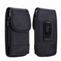Wholesale black nylon belt clips for sale - Group buy Universal Sport Nylon Leather Holster Belt Clip phone Case Cover Pouch for iPhone XR X G G Samsung S8 S9 PLUS