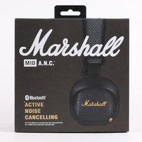 micrófono de 2,5 mm al por mayor-Marshall MID ANV Auriculares Bluetooth Deep Bass DJ Hifi Auriculares estéreo inalámbricos en la oreja con micrófono Deportes Auriculares de estudio