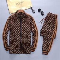 Wholesale Mens Tracksuits Sweatshirts Suit Autumn Winter Jogger Suits Sports Suit Sweat Pants Men Women Sportswear Sweatshirt Tracksuit Jacket