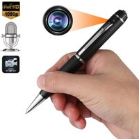 stift verstecken hd kamera großhandel-32 GB 1080p FULL HD REC PEN USB Cam Kindermädchen Video / Voice Hidden Recorder Kamera-Camcorder