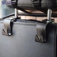 Wholesale car pretty resale online - pretty Car Seat Back Headrest Holder Hook for Bag Coat Organizer Holder Universal at3
