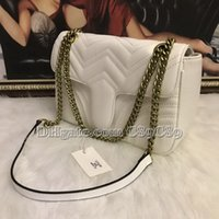 Wholesale new handbag motorcycle for sale - Group buy Hot Sale Marmont Shoulder Bags Women Chain Crossbody Bag Handbags New Designer Purse Female Leather Heart Style Message Bag
