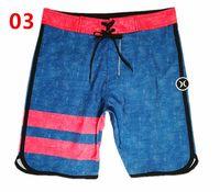 karışık mayo toptan satış-Erkek 4 YOL STRETCH Boardshorts Spandex Kurulu Şort Erkekler Mayo Bermuda Sörf Plaj Kısa Masculino Phantom Mix Boyutları