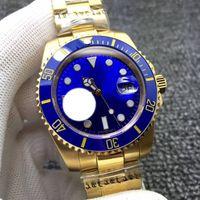 часы нержавеющие 1шт оптовых-Высокое Качество Factory V7 Роскошные Мужские Автоматические Eta 2836/3135 Часы Из Нержавеющей Стали 316L Часы Мужчины Керамическая Рамка Циферблат Световой Dive 1 шт.