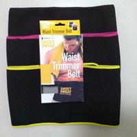 ingrosso trimmer di dimagrimento migliore-2019 Sweet Sweat Premium Waist Trimmer Trainer Uomo Donna Cintura più sottile Esercizio Ab Waist Wrap Best Estate Neoprene Sport Body Shaper T0211